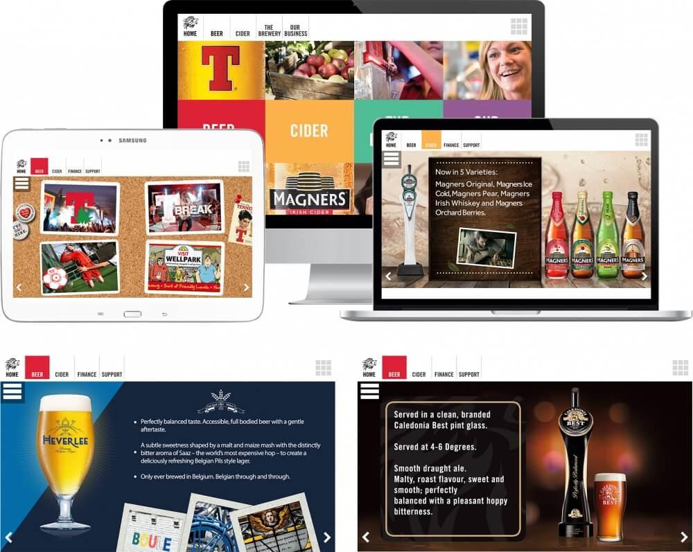 Interactive brand toolkit.