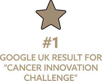 "#1 Google UK result for ""Cancer Innovation Challenge"""