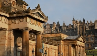 National Gallery in Edinburgh
